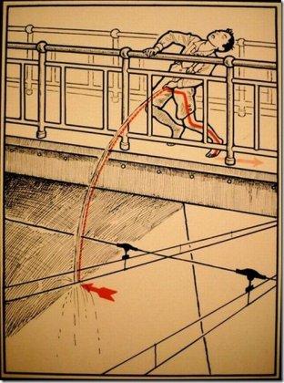 Старые плакаты, предупреждающие об опасности электричества