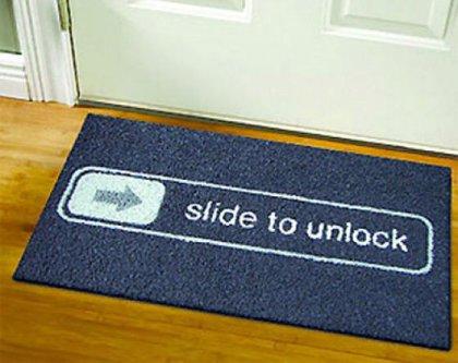 Забавные коврики для входной двери