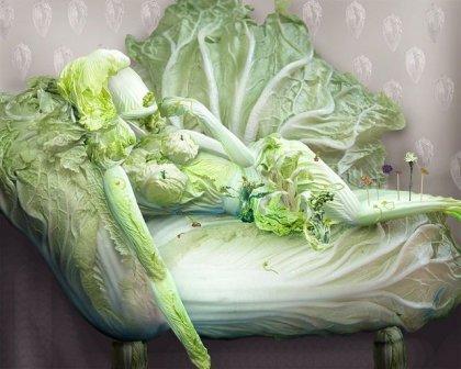 Картины из овощей