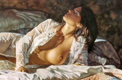 Эротическая живопись Стивена Хэнкса