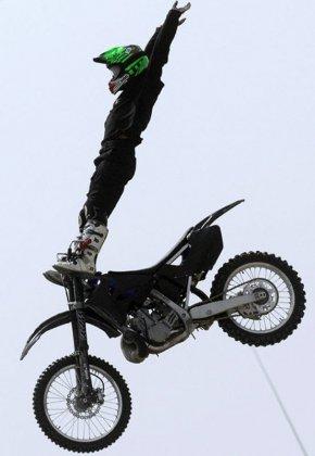 Прыжки на мотоциклах