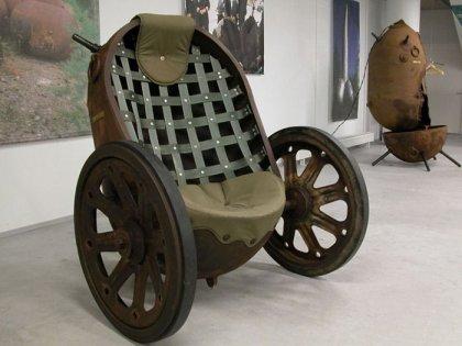 Мебель из корабельных мин