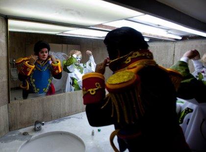 Международный съезд клоунов в Мехико