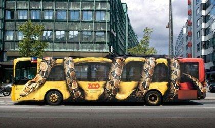 Креативная реклама зоопарка Копенгагена