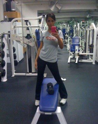 Джанесса Бразиль - сексуальный фитнес инструктор?
