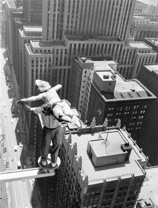 Акробатика на небоскребах Чикаго