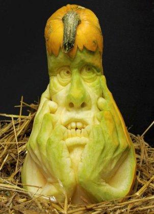 Хеллоуин: страшные тыквы
