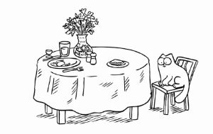 Кот Саймона - Испорченный ланч