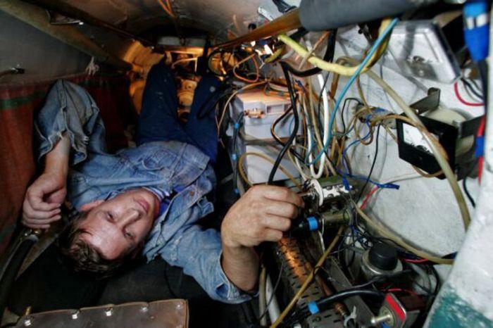 проводка на подводной лодке