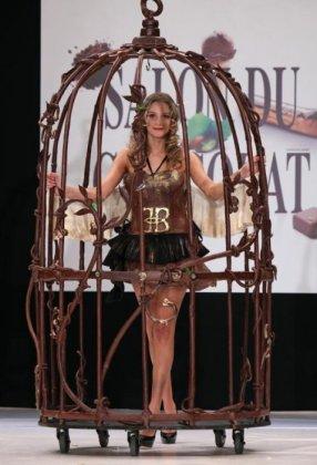Шоколадный показ от Salon du Chocolat