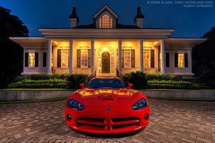 Красивые машины от Webb Bland