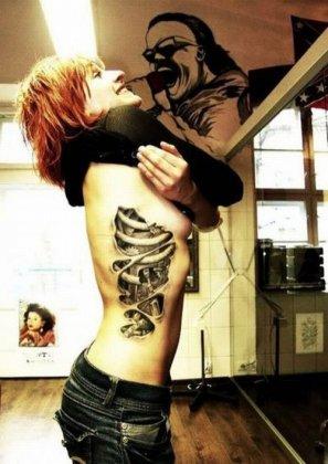 Кибер татуировки
