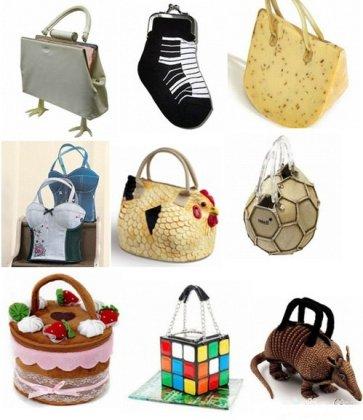 Необычные и креативные сумки (Часть 1)
