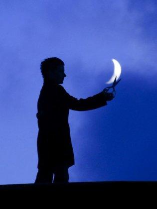 Забавные фото луны