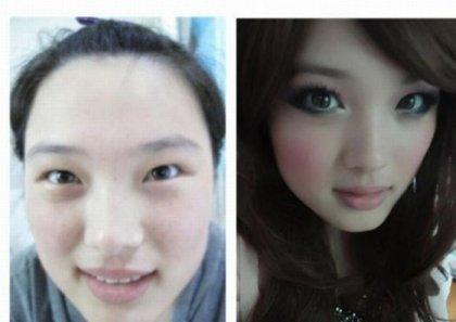 Искусство макияжа (34 фото)