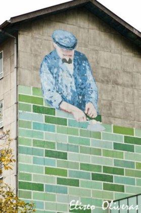 Рисунки на стенах от Eliseo Oliveras