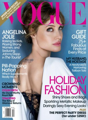 Анджелина Джоли на обложке Vogue