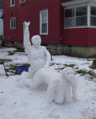 Снеговики для взрослых