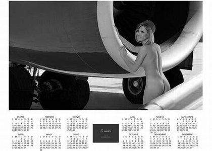 Мексиканские стюардессы в эротическом календаре