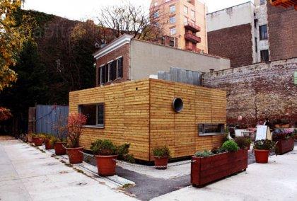 Экономичный дом на Манхэттене