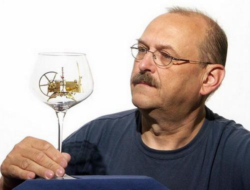 Миниатюры в бокалах от Шимона Климека
