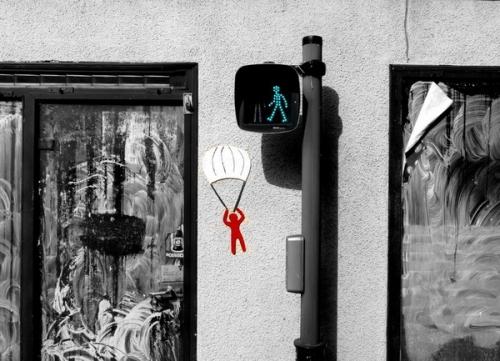 Веселый стрит-арт