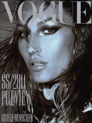Жизель Бундхен разделась для Vogue