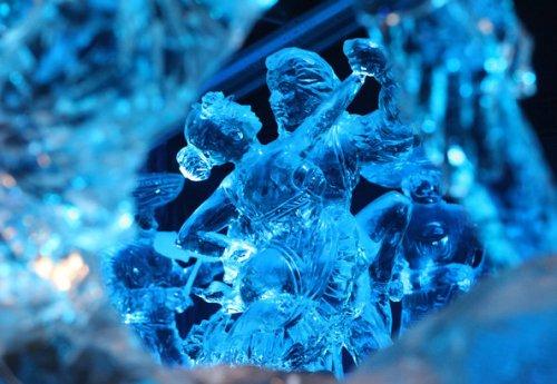 Международный фестиваль ледяных скульптур в Бельгии 2010