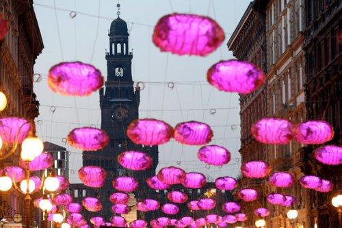 Ежегодный фестиваль света в Милане