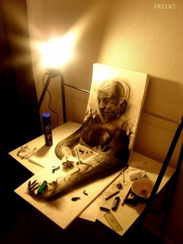3D арт от Fredo
