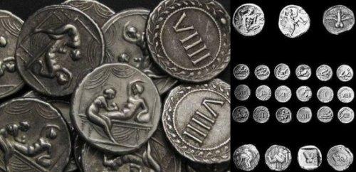 Спинтрии - пикантные древнеримские монеты