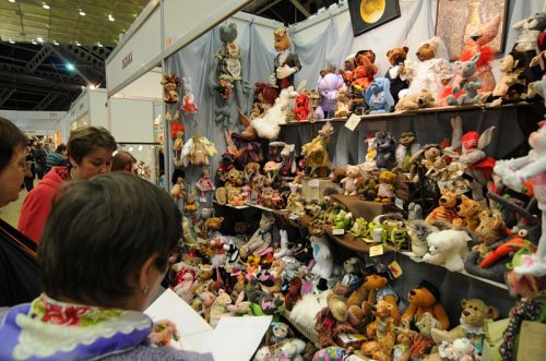 Выставка коллекционных медведей Hello, Teddy!