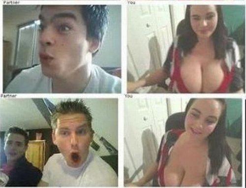 Реакция мужчин на большую женскую грудь