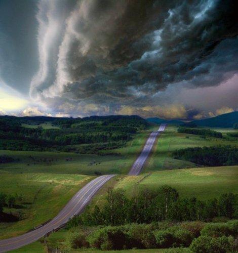 Красивые фото дороги