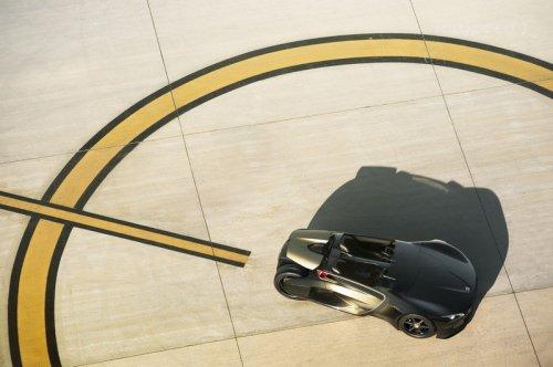 Peugeot EX1 - спортивный электромобиль (фото+видео)