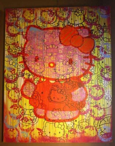 Картина Хелло Китти продана за 1,25 миллионов долларов