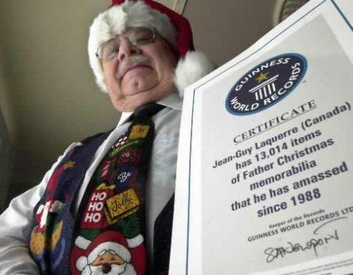 Самая масштабная коллекция сувениров, посвященная Санта Клаусу