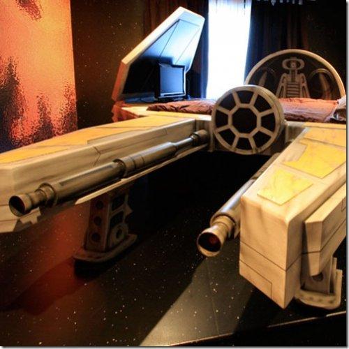 Спальня в стиле Star Wars