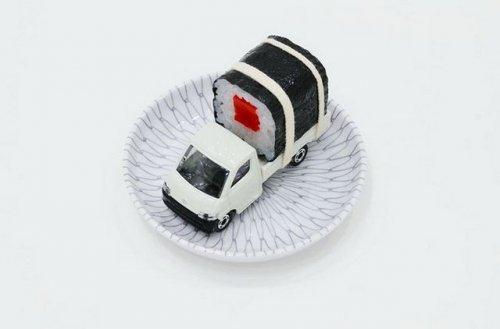 Креатив для поклонников суши