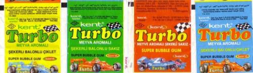 Вспомним молодость: вкладыши от жвачки Turbo