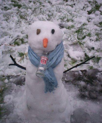 Снеговики-алкоголики