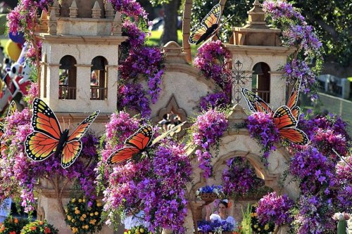 Парад Роз 2011 в Пасадене
