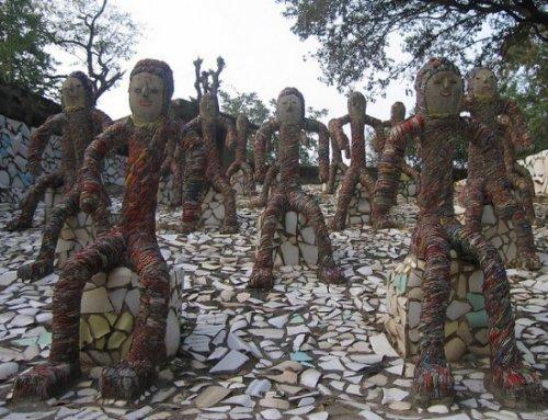 История уникального парка Рок-Гарден