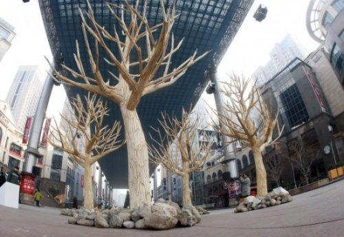 Необычный способ вернуть деревья к жизни
