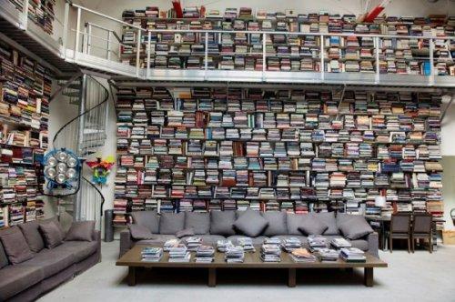 Библиотеки богатых и знаменитых