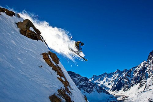 Горные лыжи в фотографиях Гранта Гюндерсона