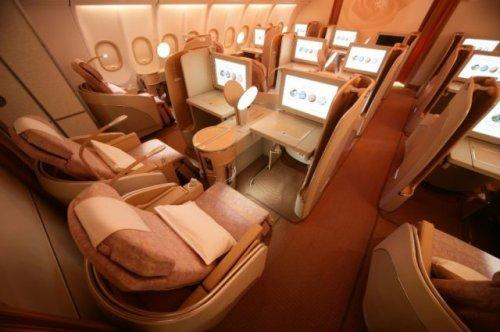 Рейс первым классом