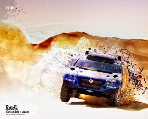 Обои на рабочий стол Dakar 2011