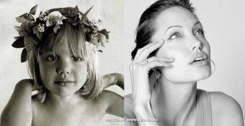 Актрисы в детстве и сейчас