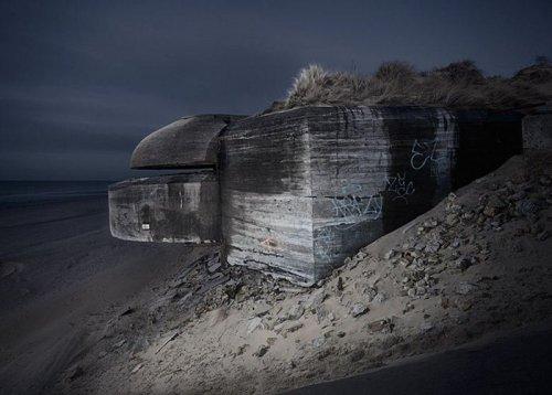 Бункеры времен Второй Мировой Войны